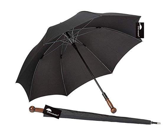 NTOI Unbreakable® Walking Stick Umbrella U-101 Straight Handle