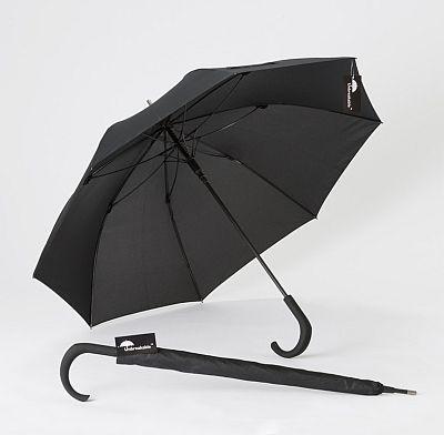 NTOI Unbreakable® Walking-Stick Umbrella Standard Model U-115 Crook Handle